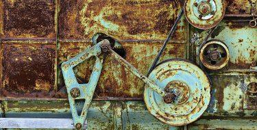 Pozbądź się oleju z maszyn