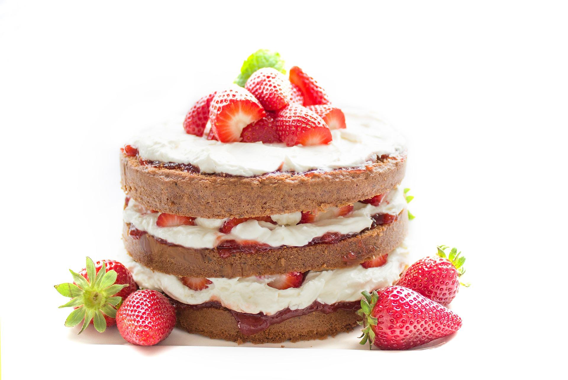 Pyszny i fantazyjny tort